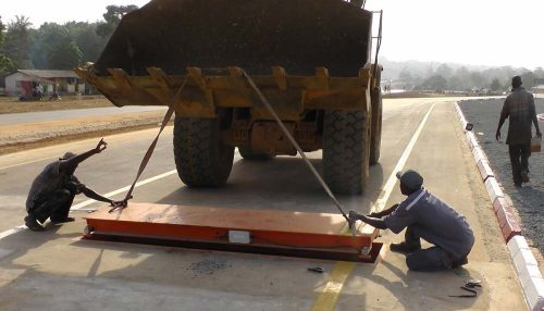 Recycling Project in Egypt Installs Griffith Elder Single Axle Weighbridges