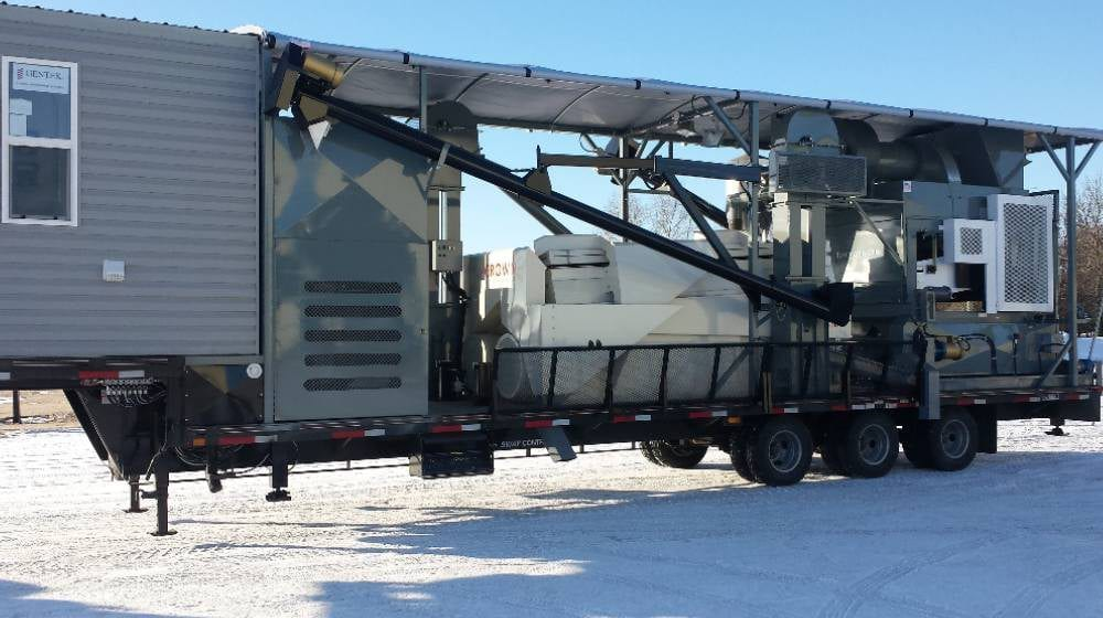 Mobile Grain Cleaner