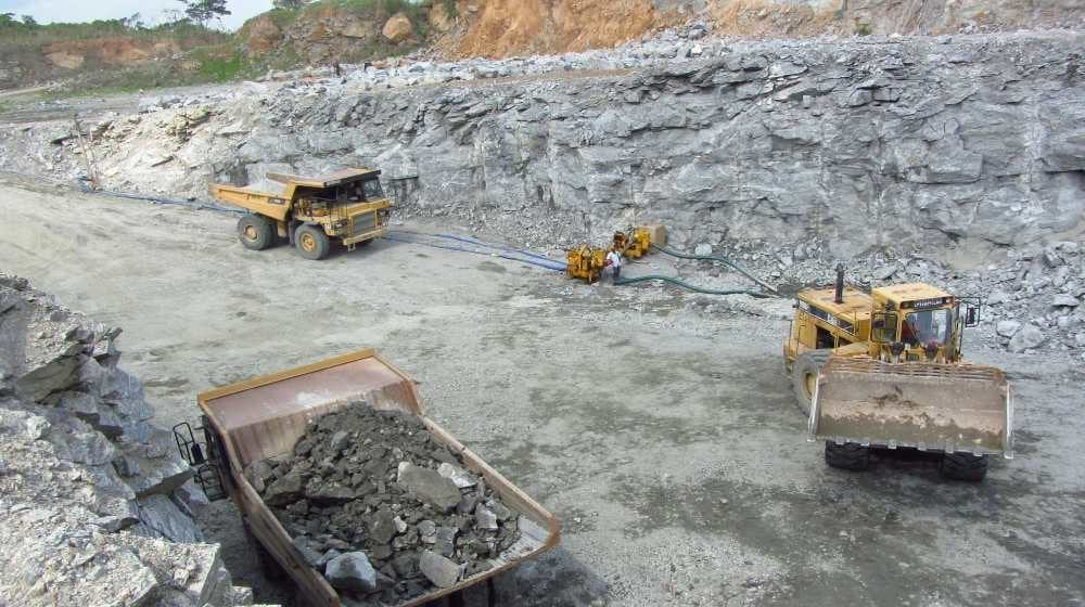 Mining Operation in Sierra Leone