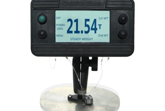 Desk mounted WB indicator