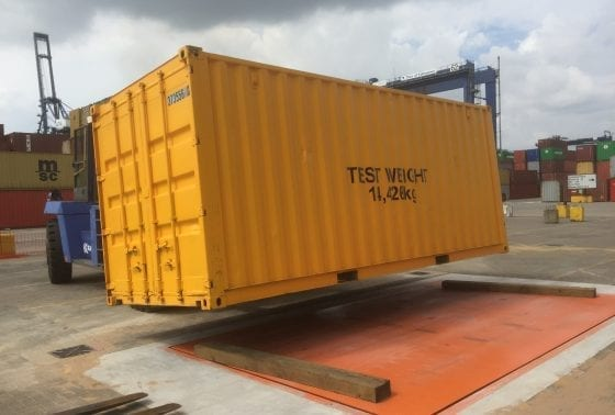 Container Weigher