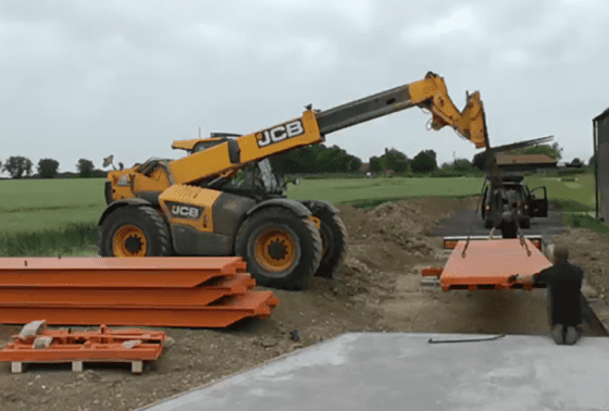 Full Size Weighbridge Assembly Video