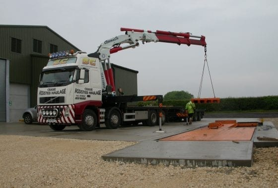Fixed Full Size Weighbridge