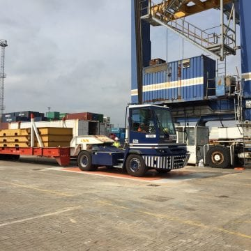 Port of Felixstowe – Weighbridge for Special Cargo Services