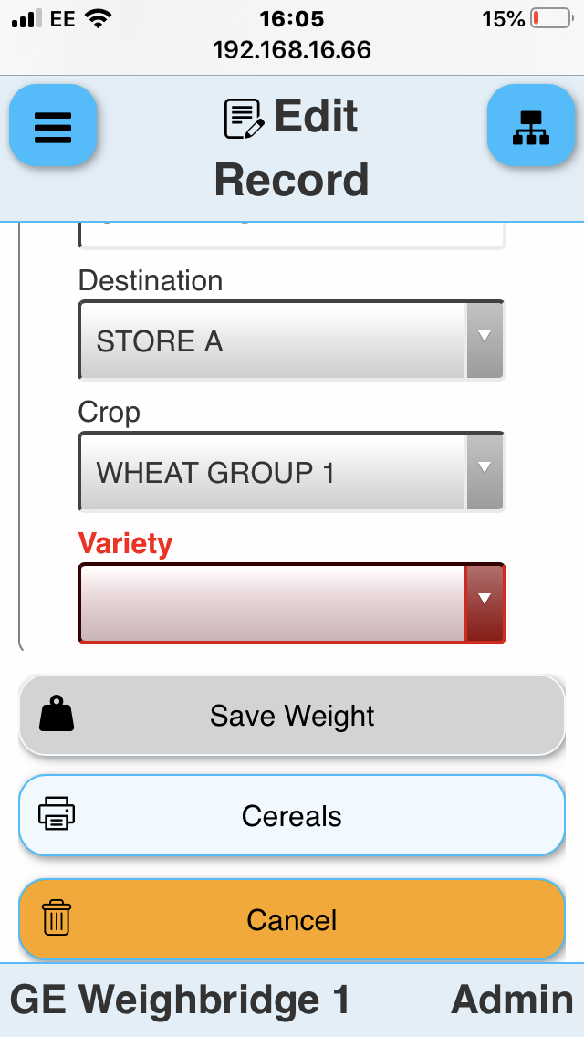 Weighbridge Software on Mobile Phone, Tablet or PC